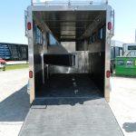 Rear Ramp Down with Swing Doors Open