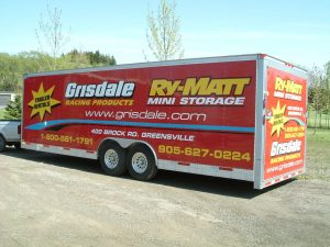 Enclosed Car Trailer