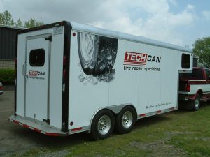 Enclosed Car Trailer with Gooseneck