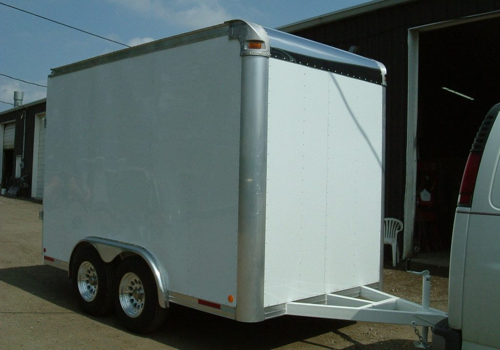 Enclosed Utility Trailer-2007-10ft-Passenger Side