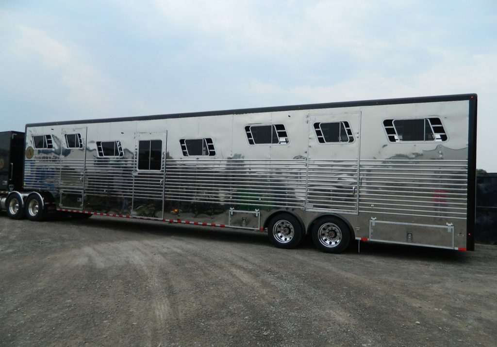 Doyle manufacturing custom built horse trailers and vans 15 horse trailers sciox Image collections